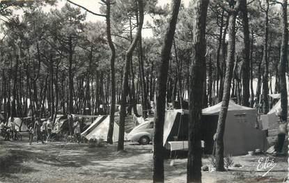 """/ CPSM FRANCE 33 """"Soulac sur Mer, la camping dans la forêt"""""""