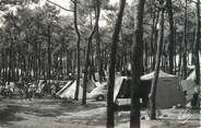 "33 Gironde / CPSM FRANCE 33 ""Soulac sur Mer, la camping dans la forêt"""