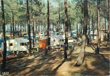 """/ CPSM FRANCE 33 """"Le lac de Lacanau, camping Le Tedey """""""