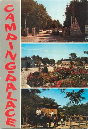 """/ CPSM FRANCE 33 """"Soulac sur Mer, camping palace"""""""