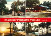 "33 Gironde / CPSM FRANCE 33 ""Andernos Les Bains, camping Fontaine Vieille """