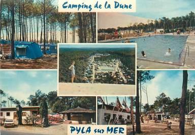 """/ CPSM FRANCE 33 """"Pyla sur Mer, camping de la Dune"""""""