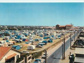 """/ CPSM FRANCE 34 """"Valras Plage, le camping du Casino"""""""