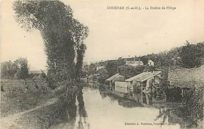 """CPA FRANCE 91 """"Dourdan, la Rivière de l'Orge"""""""