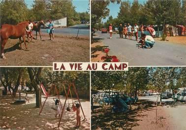 """/ CPSM FRANCE 34 """"Sérignan plage, Grau de Vendres, camping Les Foulegues"""""""