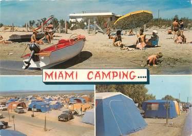 "/ CPSM FRANCE 34 ""Frontignan, miami camping"""