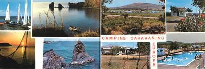 "/ CPSM FRANCE 34 ""Cap d'Agde, camping Europa"" / LIVRET"