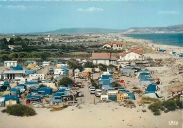 "/ CPSM FRANCE 34 ""Marseillan plage, camping Robinson"""