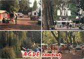 "34 Herault / CPSM FRANCE 34 ""Agde, camping"""