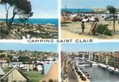 "34 Herault / CPSM FRANCE 34 ""Sète et ses environs, camping Saint Clair"""
