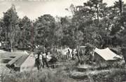 """40 Lande / CPSM FRANCE 40 """"Capbreton, les campeurs"""" / CAMPING"""
