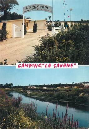 "/ CPSM FRANCE 40 ""Labenne, camping la Savane"""