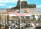"""40 Lande / CPSM FRANCE 40 """"Biscarosse, le camping de Port Maguide"""""""