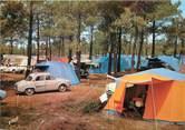 "40 Lande / CPSM FRANCE 40 ""Capbreton, domaine de Fierbois"" / CAMPING"
