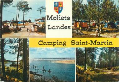 """/ CPSM FRANCE 40 """"Moliets, camping Saint Martin"""""""
