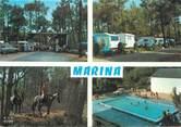 "40 Lande / CPSM FRANCE 40 ""Mimizan, camping Marina"""