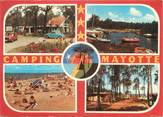 """40 Lande / CPSM FRANCE 40 """"Biscarosse, camping Mayotte"""""""