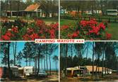 "40 Lande / CPSM FRANCE 40 ""Biscarosse, camping Mayote """