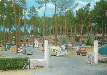 "/ CPSM FRANCE 40 ""Hossegor, l'entrée du camping de la forêt"""