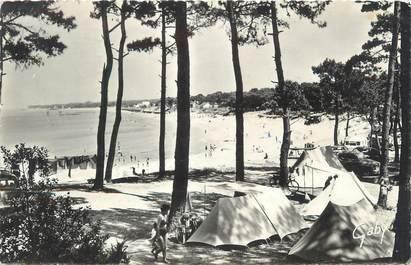 """/ CPSM FRANCE 44 """"Saint Brevin Les Pins, plage du Pointeau et le camping"""""""