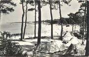 """44 Loire Atlantique / CPSM FRANCE 44 """"Saint Brevin Les Pins, plage du Pointeau et le camping"""""""