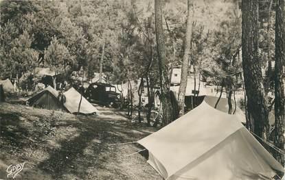 """/ CPSM FRANCE 44 """"La Baule les Pins, le terrain de camping"""""""