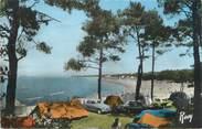 """44 Loire Atlantique / CPSM FRANCE 44 """"Saint Brévin, camping au bord de la plage"""""""