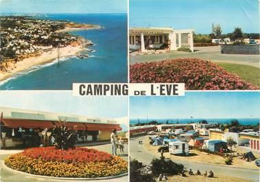 """/ CPSM FRANCE 44 """"Saint Marc sur Mer, camping de l'Eve """""""