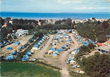 "/ CPSM FRANCE 44 ""Tharon plage, terrain de Camping du Thar Cor"""