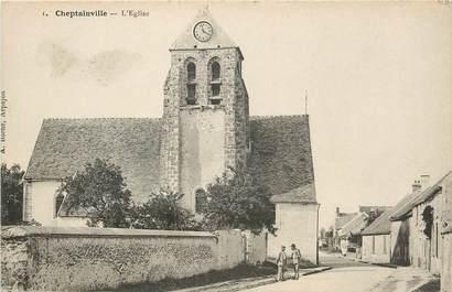"CPA FRANCE 91 ""Cheptainville, L'Eglise"""