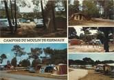 "56 Morbihan / CPSM FRANCE 56 ""Carnac, camping du moulin de Kermaux"""
