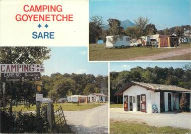 """/ CPSM FRANCE 64 """"Sare, camping Goyenetche"""""""