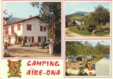 "/ CPSM FRANCE 64 ""Urrugne, camping AIre Ona"""
