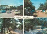 """66 PyrÉnÉe Orientale / CPSM FRANCE 66 """"Argelès sur Mer, le camping La Chapelle"""" / AUTOMOBILE"""