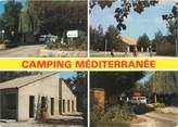 """66 PyrÉnÉe Orientale / CPSM FRANCE 66 """"Argelès sur Mer, le camping Méditerranée"""""""
