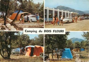 """/ CPSM FRANCE 66 """"Argelès sur Mer, le camping du bois Fleuri"""""""