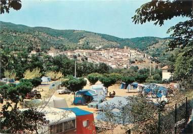 """/ CPSM FRANCE 66 """"Amélie Les Bains, le camping municipal"""""""