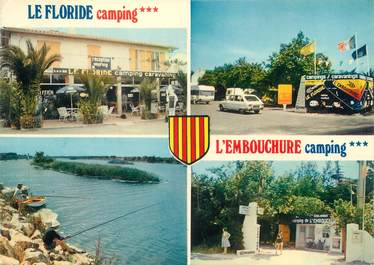 """/ CPSM FRANCE 66 """"Le Barcares"""" / CAMPING"""