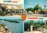 """66 PyrÉnÉe Orientale / CPSM FRANCE 66 """"Le Barcares"""" / CAMPING"""