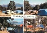 """66 PyrÉnÉe Orientale / CPSM FRANCE 66 """"Font Romeu, camping"""""""