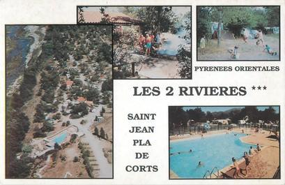 """/ CPSM FRANCE 66 """"Saint Jean Pla de Corts"""" / CAMPING"""