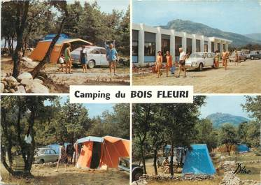 """/ CPSM FRANCE 66 """"Argelès sur Mer, camping du bois Fleuri"""""""
