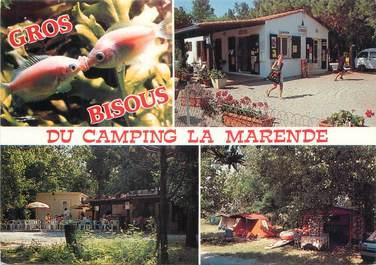 "/ CPSM FRANCE 66 ""Argelès sur Mer, camping La Marende """