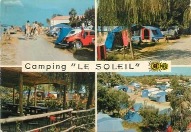 """/ CPSM FRANCE 66 """"Argelès sur Mer, camping le Soleil"""""""