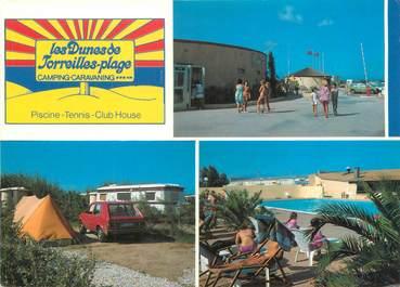 "/ CPSM FRANCE 66 ""Toreilles Plage, camping les Dunes"""