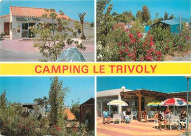 """/ CPSM FRANCE 66 """"Toreilles Plage, camping le Trivoly"""""""