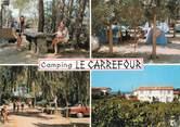 """66 PyrÉnÉe Orientale / CPSM FRANCE 66 """"Argeles Plage, camping Le Carrefour"""""""