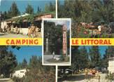 """66 PyrÉnÉe Orientale / CPSM FRANCE 66 """"Argelès sur Mer, camping Le Littoral """""""