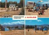 "66 PyrÉnÉe Orientale / CPSM FRANCE 66 ""Bourg Madame, camping l'Aiglon"""