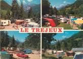 """74 Haute Savoie / CPSM FRANCE 74 """"Thônes, Le Tréjeux"""" / CAMPING"""
